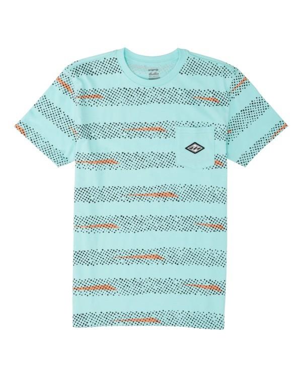 0 Boys' Riot Short Sleeve T-Shirt Grey B4331BRI Billabong