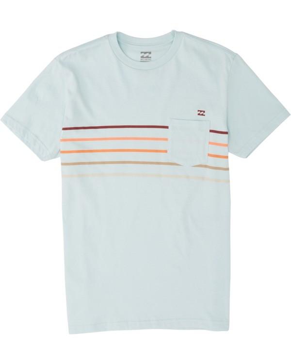 0 Boys' Spinner Short Sleeve T-Shirt Brown B4331BSP Billabong