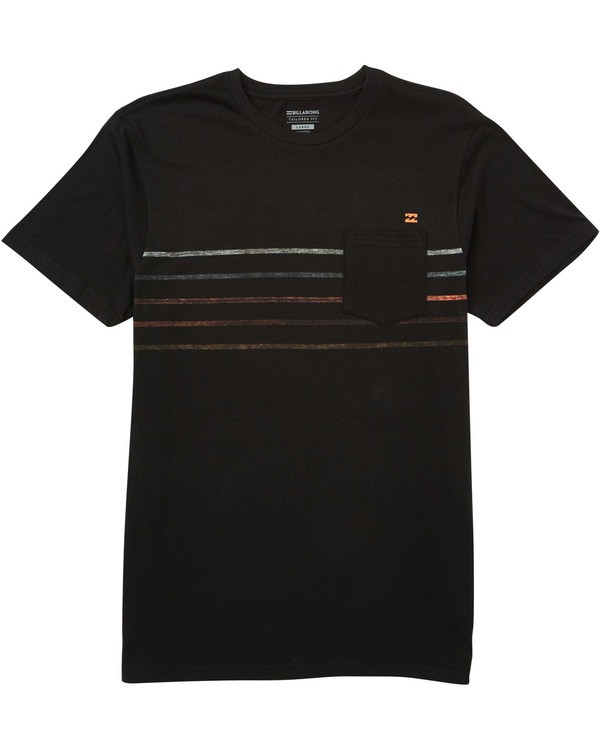 0 Boys' Spinner Tee Black B433TBSP Billabong