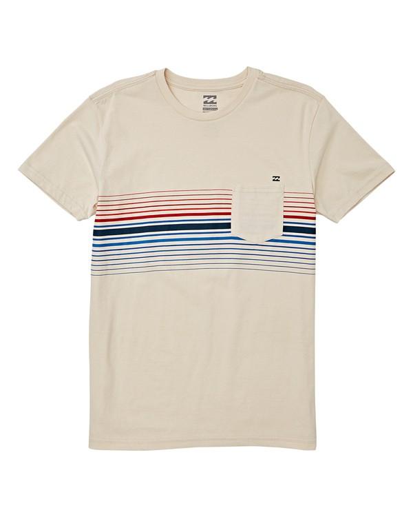 0 Boys' Spinner Short Sleeve T-Shirt Brown B433WBLT Billabong