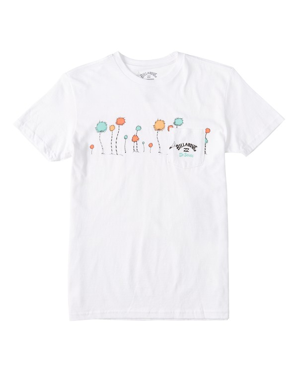 0 Boys' Truffula T-Shirt White B4372BTR Billabong