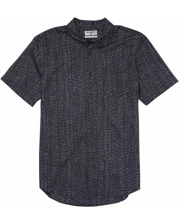 0 Boys' Sundays Mini Short Sleeve Shirt  B500MSUM Billabong