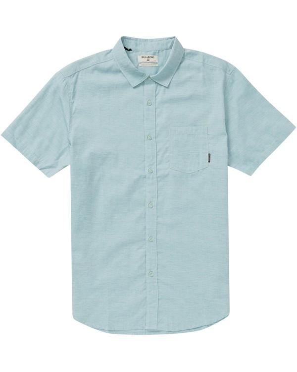 0 Boys' All Day Helix Short Sleeve Shirt  B500NBAL Billabong