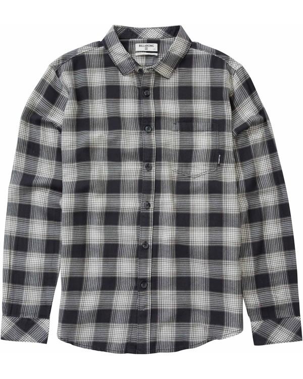 0 Boys' Freemont Flannel Shirt  B506LFRE Billabong