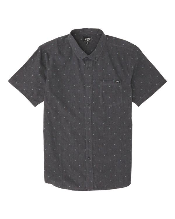 0 Boys' All Day Jacquard Shirt Black B5071BSJ Billabong