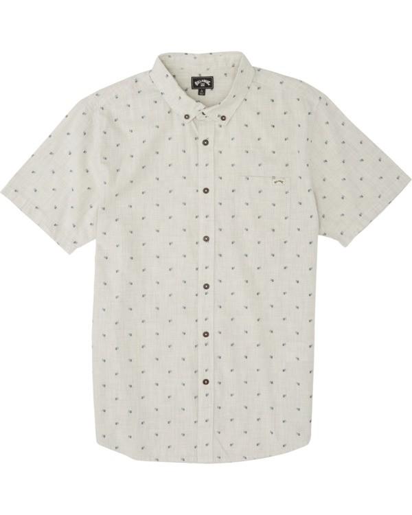 0 Boys' All Day Jacquard Shirt Red B5071BSJ Billabong