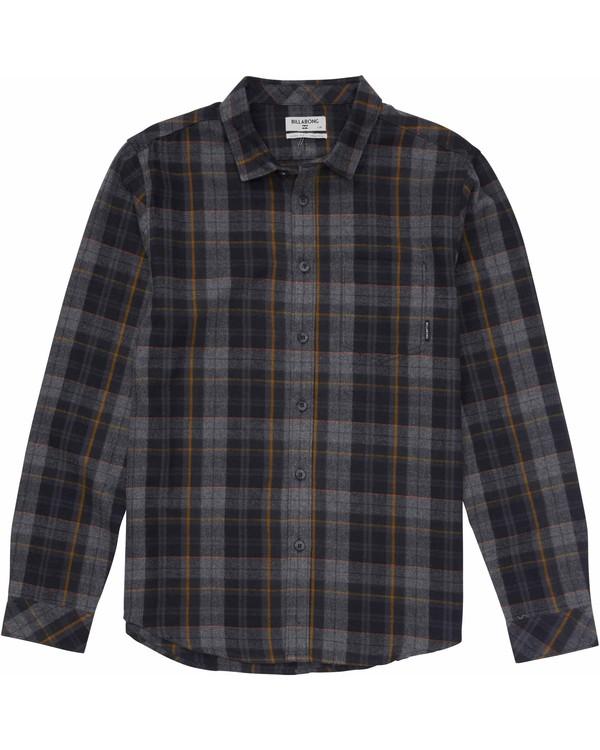 0 Boys' Coastline Flannel Shirt  B508MCOA Billabong