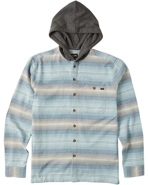 0 Boys' Baja Flannel Shirt Beige B5213BBF Billabong