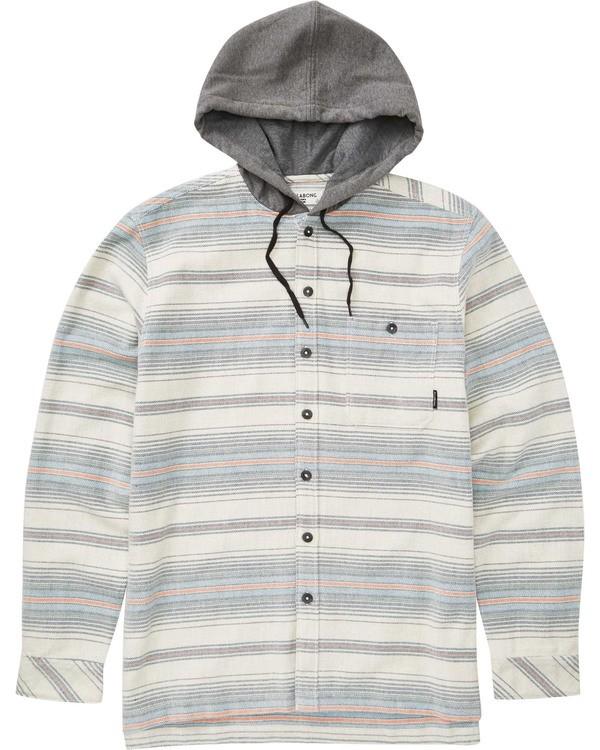 0 Boys' Baja Flannel Grey B521TBBF Billabong