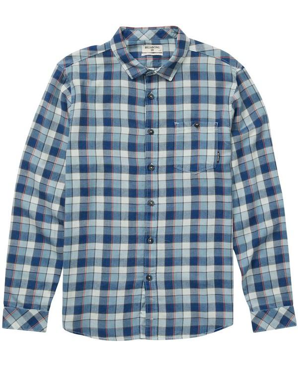 0 Boys Freemont Flannel Shirt  B523NBFR Billabong