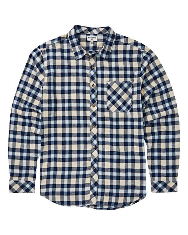 0 Boys' Freemont Flannel Shirt Red B523VBFR Billabong