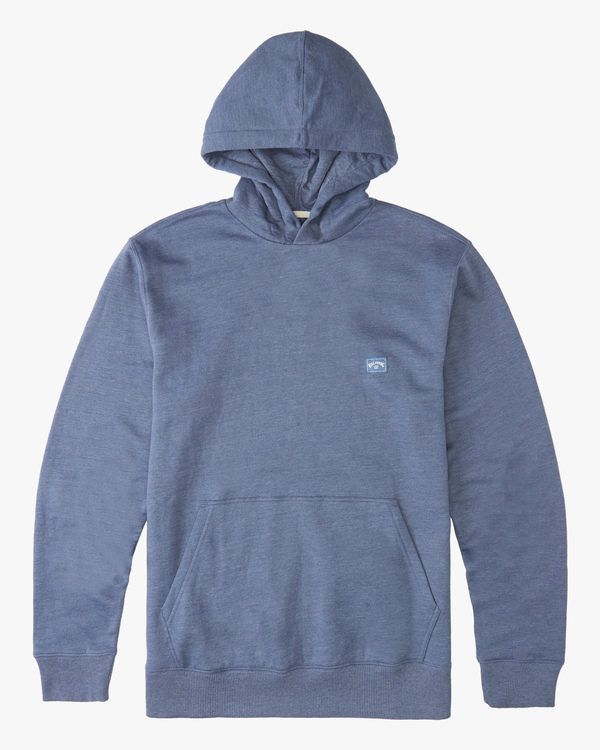 0 Boys' All Day Pullover Hoodie Blue B6403BAP Billabong