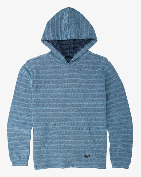 0 Boys' Flecker Lite Pullover Blue B6403BLI Billabong