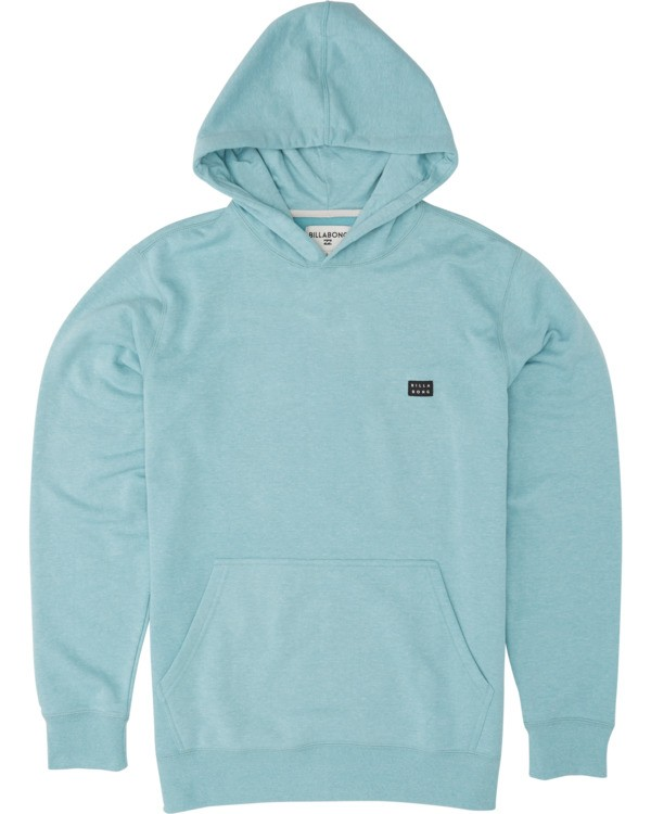 0 Boys' All Day Pullover Hoodie Blue B640VBAP Billabong