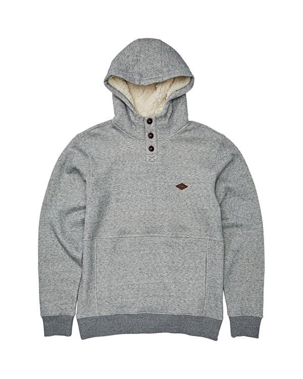 0 Boys' Hudson Pullover Hoodie Grey B640WBHU Billabong