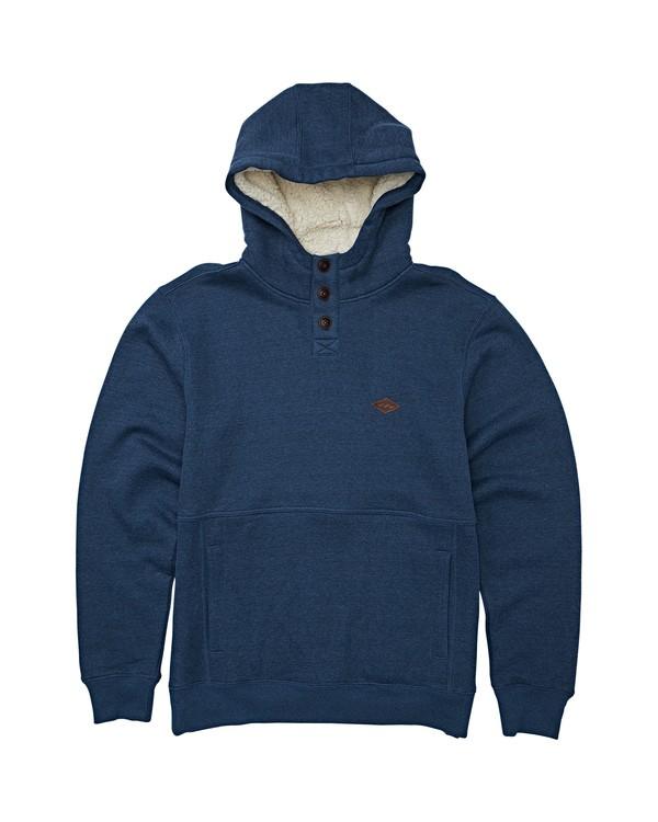 0 Boys' Hudson Pullover Hoodie Blue B640WBHU Billabong