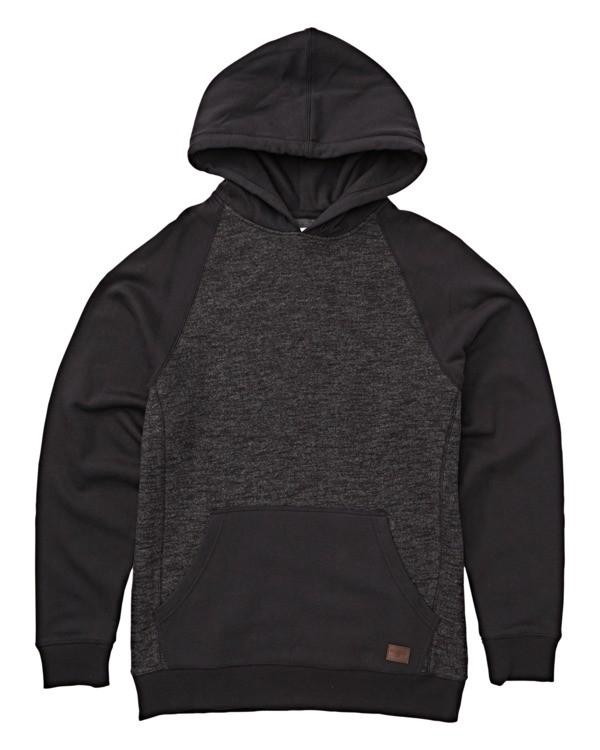 0 Boys' Balance Pullover Hoodie Black B645VBBP Billabong