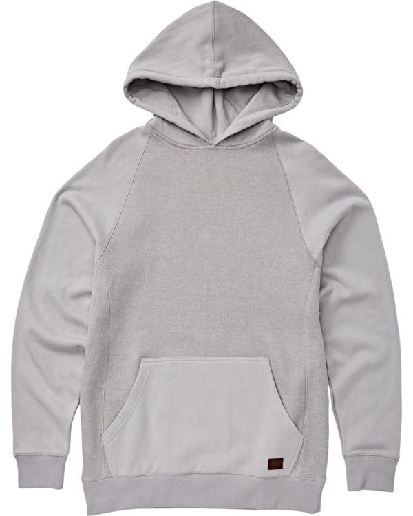 0 Boys' Balance Pullover Hoodie Grey B645VBBP Billabong