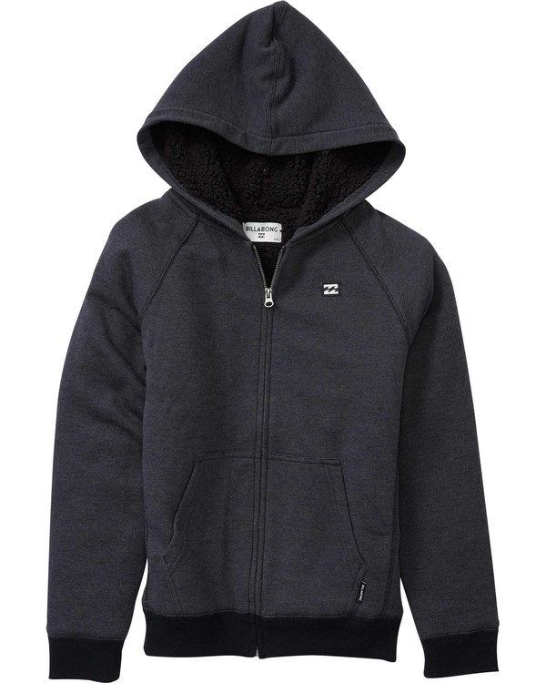 0 Boys' Balance Sherpa Zip  B665LBAS Billabong