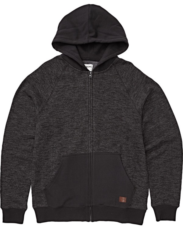 0 Boys' Balance Zip Hoodie Black B665VBBZ Billabong