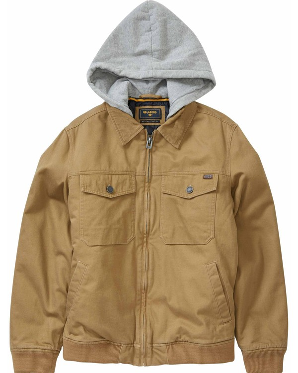 0 Boys' Barlow Till Jacket  B704LBAT Billabong
