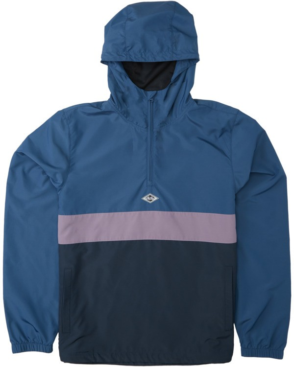 0 Boys' Wind Swell Anorak Jacket Blue B7103BWI Billabong