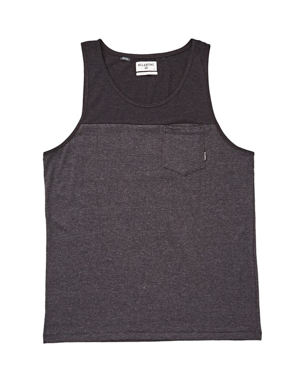 0 Boys' Zenith Blocked Tank  B900UBBL Billabong