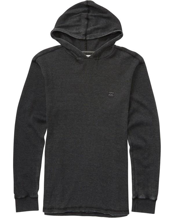 0 Boys' Keystone Pullover Hoodie Black B901LKEY Billabong