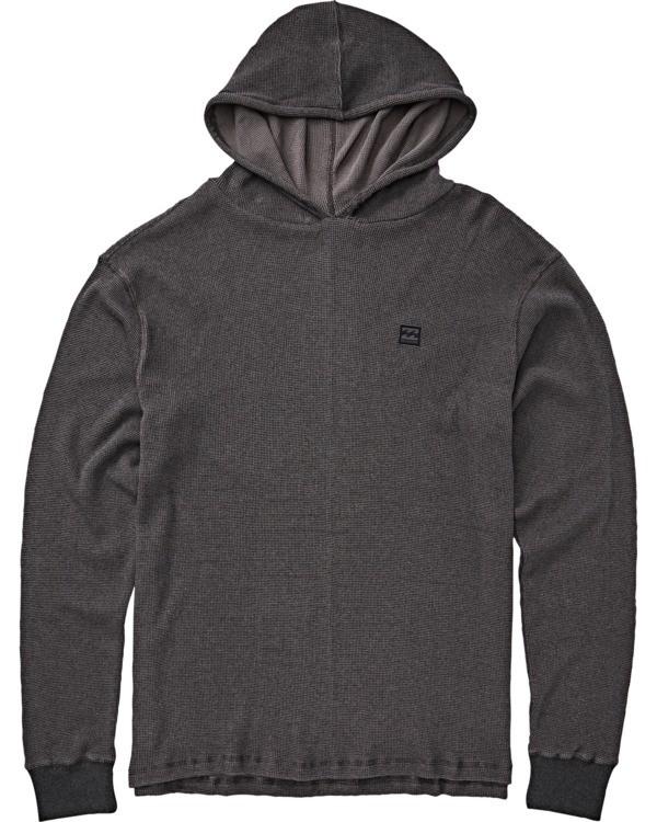 0 Boys' Keystone Pullover Hoodie Black B901VBKE Billabong
