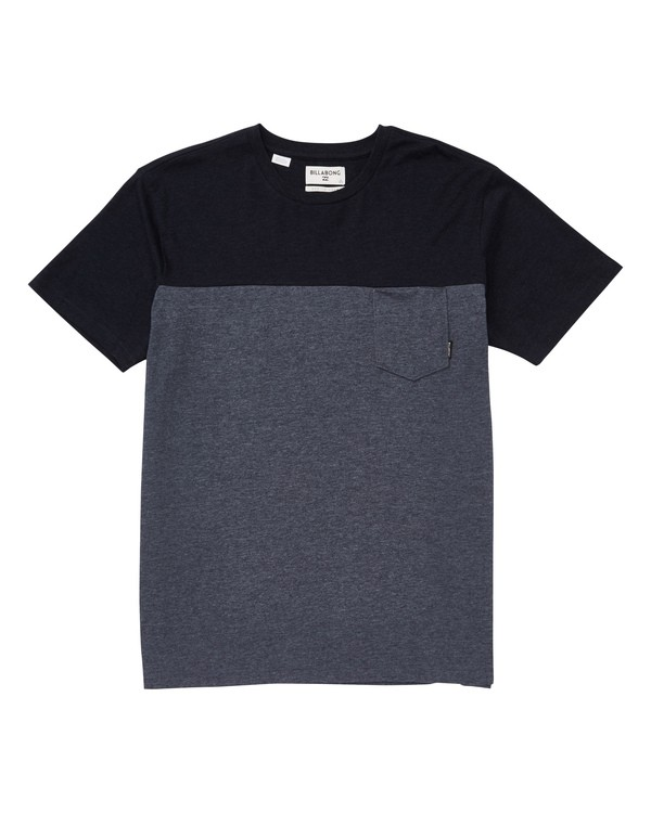 0 Boys' Zenith Blocked Crew Black B903TBZB Billabong