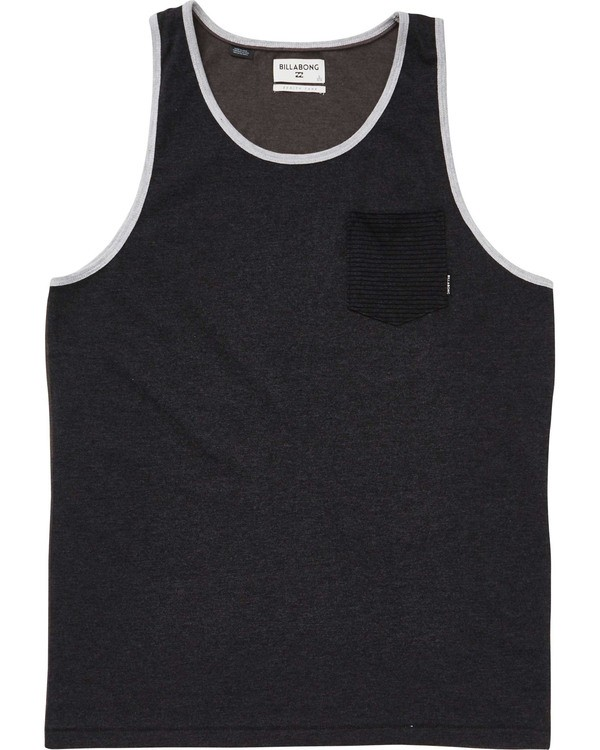0 Boys' Zenith Tank Black B903TBZT Billabong