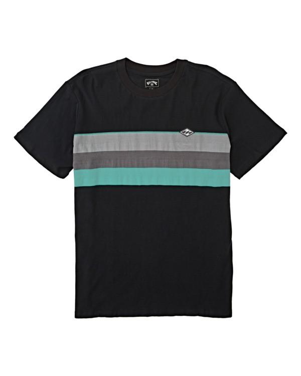 0 Boys' Spinner Crew T-Shirt White B9042BSP Billabong