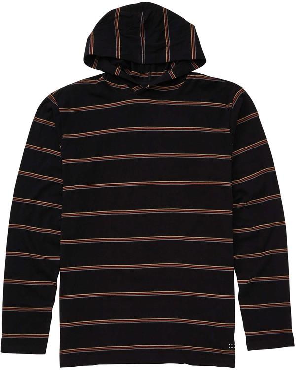 0 Boys' Die Cut Pullover Hoodie Black B906TBDP Billabong