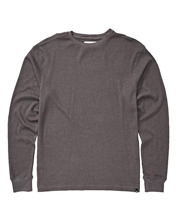 0 Boys' Essential Thermal Knit Grey B917WBES Billabong