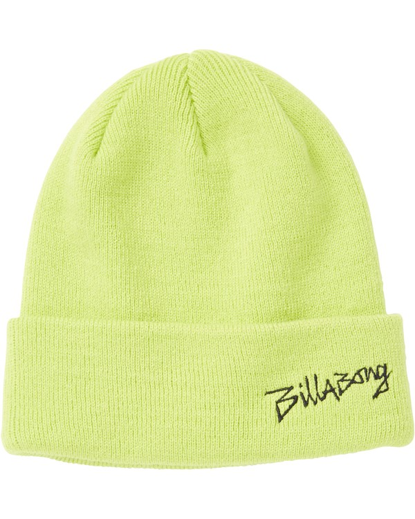 0 Boys' Eighty Six Beanie Yellow BABNSBES Billabong