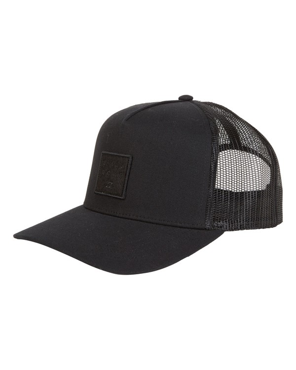 0 Boys' Stacked Trucker Black BAHW1BST Billabong