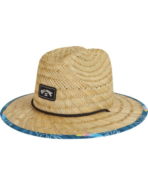 0 Boys' Tides Print Lifeguard Hat Blue BAHW1BTP Billabong