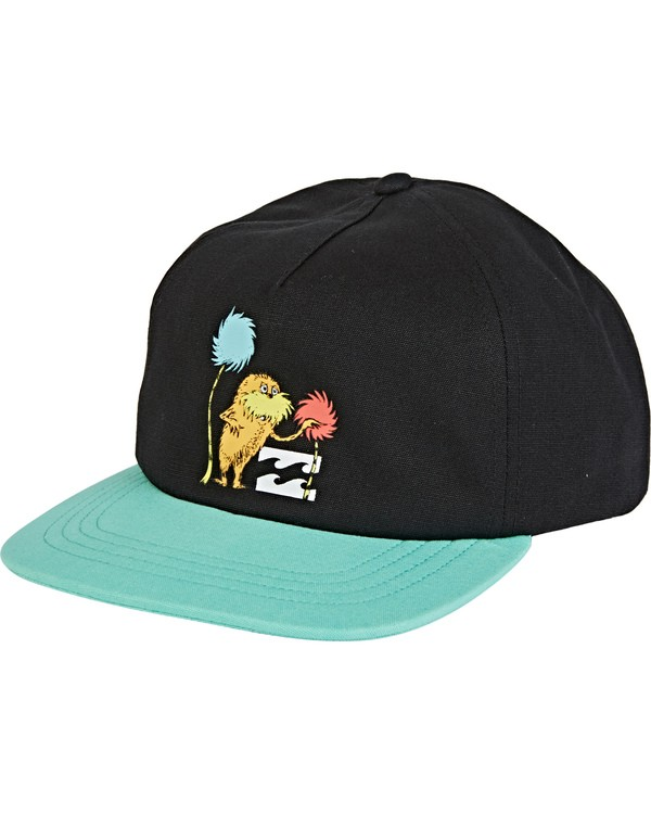 0 Boys' Truffula Snapback Hat Black BAHW2BTR Billabong