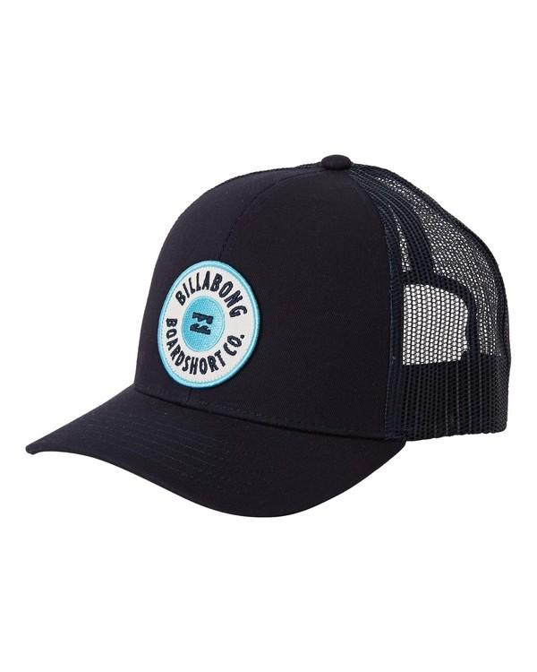 0 Boys' Walled Trucker Hat Blue BAHW3BWA Billabong