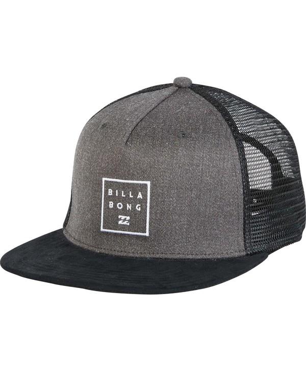 0 Boys' Stacked Trucker Hat  BAHWNBAN Billabong