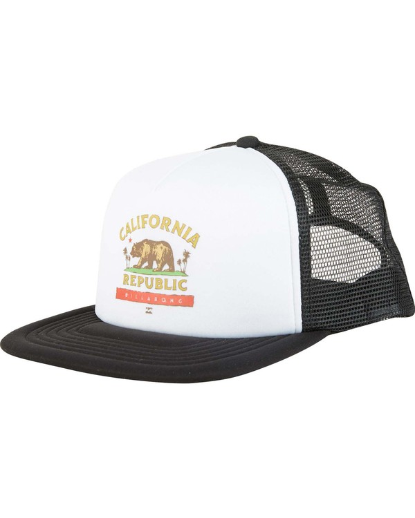 0 Boys' California Trucker Hat  BAHWNBCA Billabong