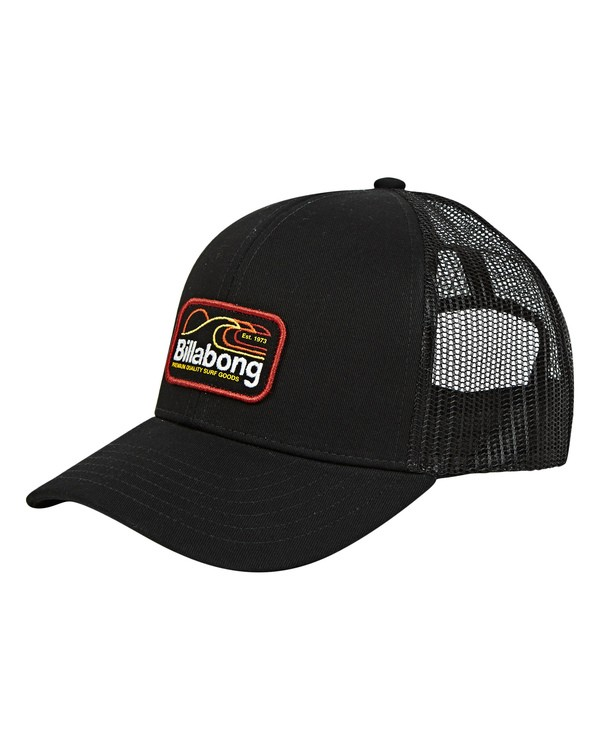 0 Boys' Walled Trucker Hat Black BAHWTBWT Billabong