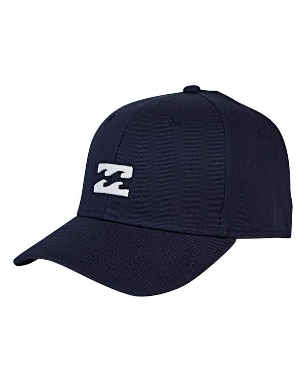 0 Boys' All Day Stretch Hat Blue BAHWVBAD Billabong