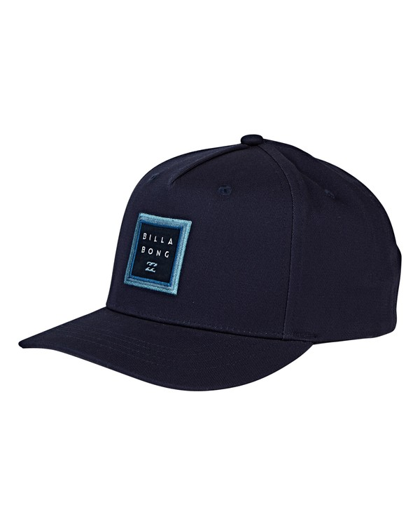0 Boys' Stacked Snapback Hat Blue BAHWVBAS Billabong