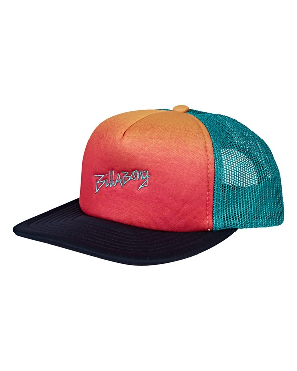 0 Boys' Eighty Six Trucker Hat Blue BAHWVBES Billabong