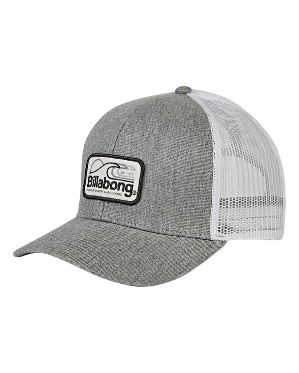 0 Boys' Walled Trucker Hat Grey BAHWVBWA Billabong