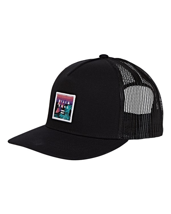 0 Boys' Stacked Trucker Hat Multicolor BAHWWBST Billabong