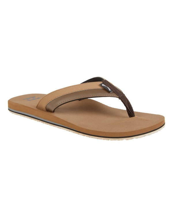 0 Boys' All Day Impact Sandals Brown BFOT1BAD Billabong