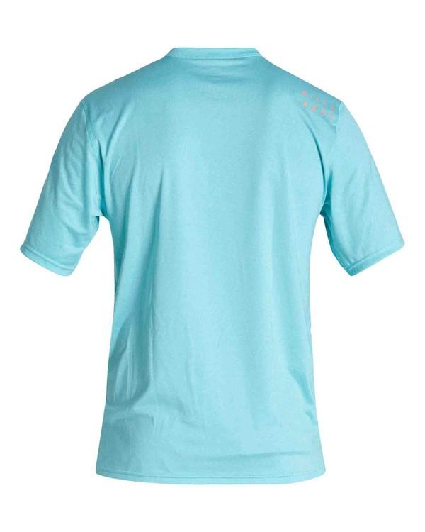 0 Boys' All Day Wave Loose Fit Short Sleeve Surf Shirt Orange BR011BAL Billabong