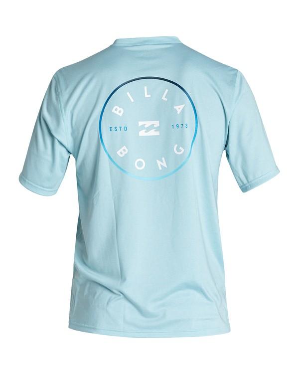 0 Boys' Rotor Loose Fit Short Sleeve Surf Shirt Multicolor BR011BRO Billabong